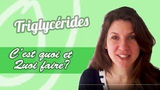 Trop de Triglycérides (TG) : quoi faire?