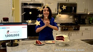 One Million Subscribers Celebration - Joyofbaking.com