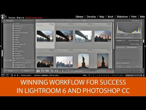 From Camera to Client: Winning Workflow for Success in Lightroom 6 & Photoshop CC