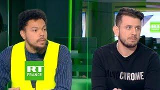 Deux gilets jaunes s'expriment sur l'adresse à la nation d'Emmanuel Macron