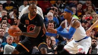 CAVS DESTROYED THE KNICKS IN GAME 1 OF 2017 NBA SEASON! *REVIEW W/O VIDEO