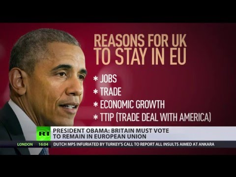 Brexit Debate: 'We can take advice' vs. 'We don't want Obama over here'