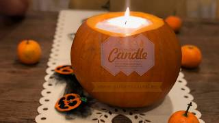 Halloweeni Pulberküünal/ Halloween PowderCandle