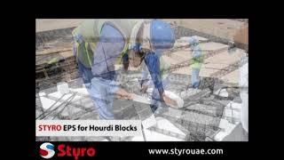 Pivot Construction Void Filling With Styrofoam, Styro Eps