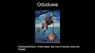 Orisha ODDUDUWA