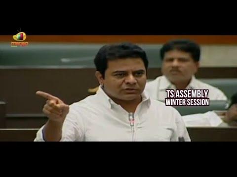KTR Slams On Kishan Reddy And Revanth Reddy Over HYD Development In TS Assembly | Mango News