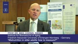 EVL - Prof. Dr. med. Cornel Sieber: Malnutrition in older adults: how to measure?