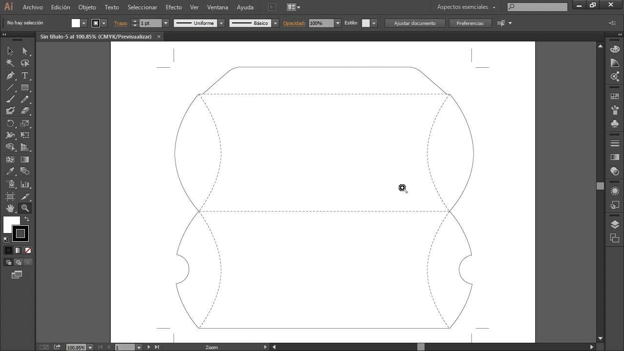 Curso illustrator CC CS6 Introducción 11 Documentos con Plantillas ...