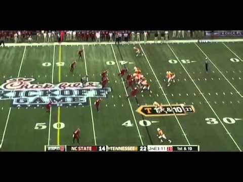 Tyler Bray vs NC State 2012   YouTube