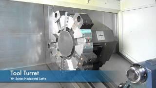 YH-series CNC lathe - Tool turret