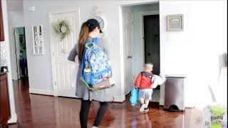 Mommy morning routine with two kids