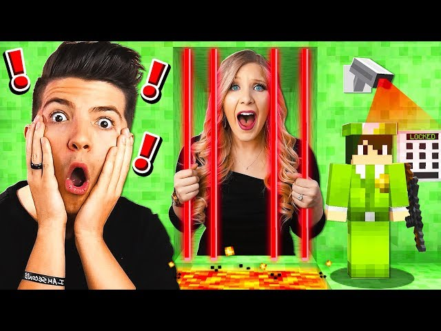 Saving My Wife From Slime Minecraft Prison