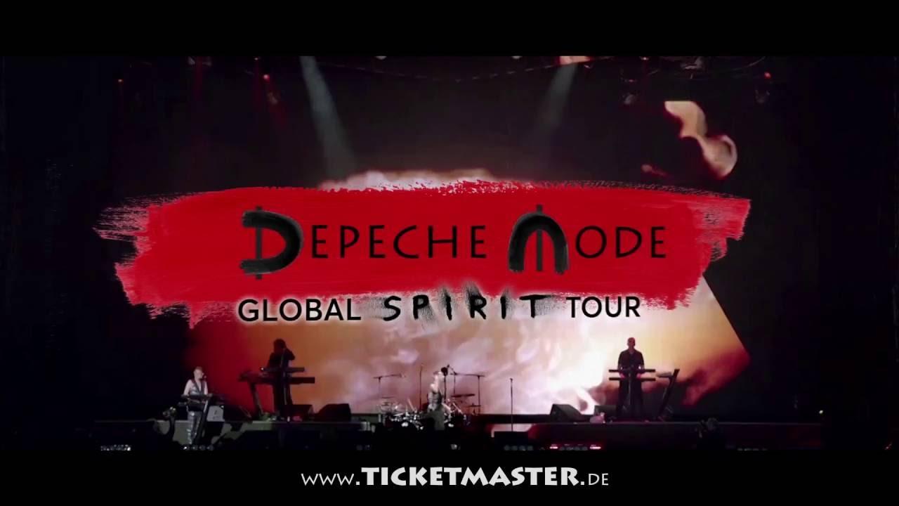 Depeche Mode Tour 2020 Ticketmaster Depeche Mode   Global Spirit Tour 2017   Trailer   YouTube