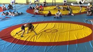 Открытая тренировка сборной по вольной борьбе Укр.10