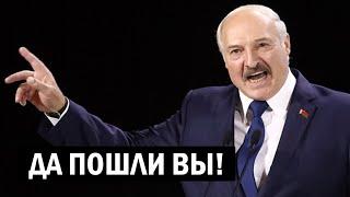 Срочно - Лукашенко: да плевать я хотел! Выборы кто выигрывать будет?! - новости, политика