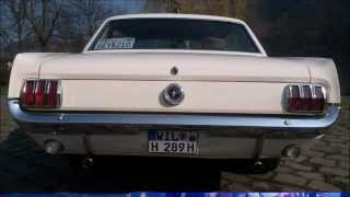 Ford Mustang 1965 Coupe Wimbledon White