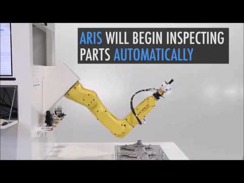 Robotic 3D Scanning System for Manufacturing Quality Control – ARIS Technology