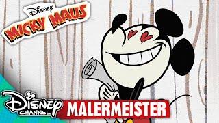 MICKY MAUS SHORTS - Die Malermeister | Disney Channel