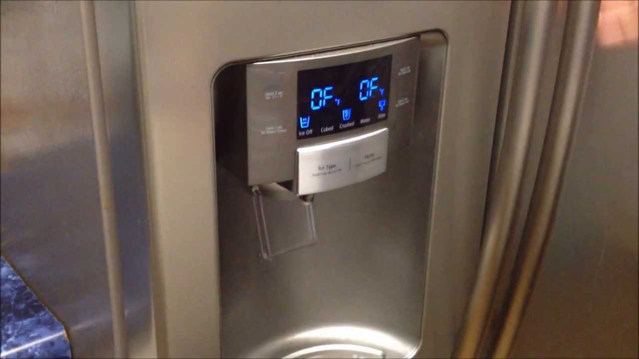 Samsung Refrigerator Off Mode How To Get Samsung Frige Out Of Off Demo Mode Youtube
