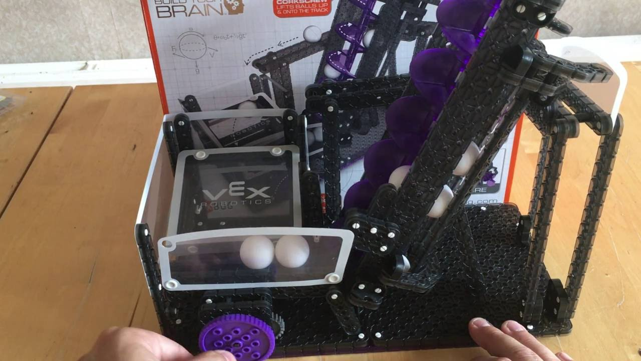 Vex Robotics Screw Lift Ball Machine Youtube The Prize Is A Hexbug Hexcalator Which Was Featured Here Earlier This