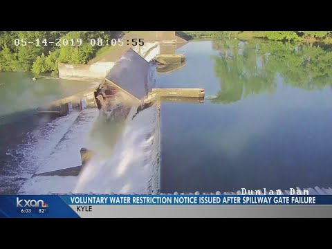 Property Owners Warned After Spillgate Fails At Lake Dunlap Near New Braunfels