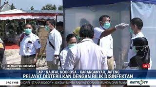 Gambar cover Cegah Covid-19, Pelayat Ibunda Jokowi Dicek Suhu Tubuh dan Disemprot Disinfektan
