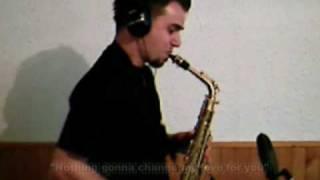 Nothing's gonna change my love - KVANT Alt sax  Vintage model, ESM Jazz 6 mouthpiece (Bojan Bahč) thumbnail