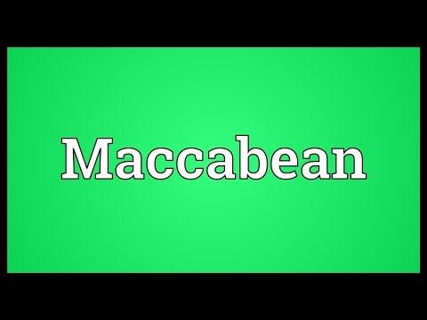 Header of Maccabean