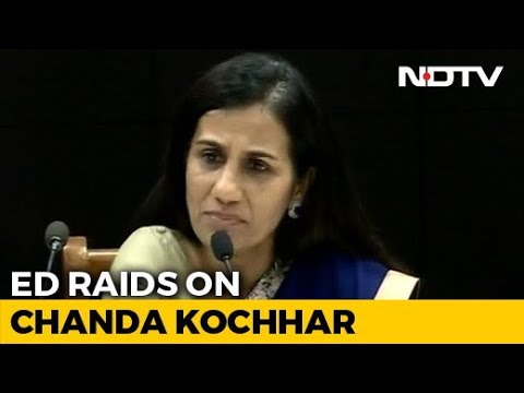 Chanda Kochhar, Videocon Chief Venugopal Dhoot's Homes Searched In Loan Case