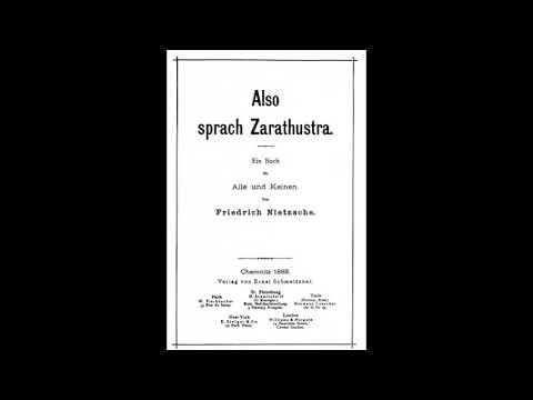 Äänikirja: Näin puhui Zarathustra, Nietzsche - osa 1