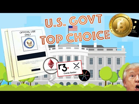 BREAKING NEWS! U.S. Government Has Their TOP BLOCKCHAIN PROJECT! Bitcoin EXPLODES! Visa + BTC!