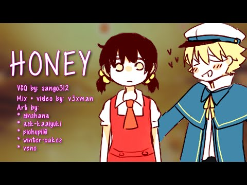 【Oliver and Yuki】Honey【VOCALOIDカバー曲】