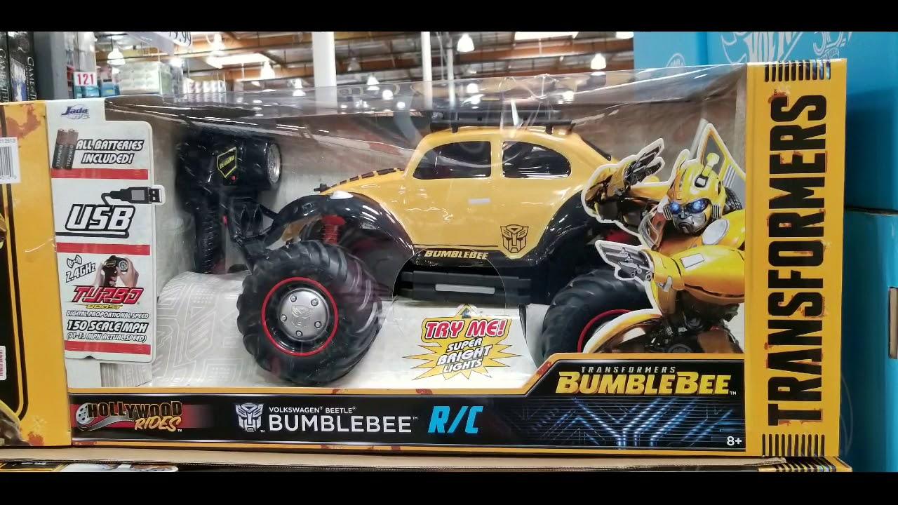 Costco Transformers Bumblebee Vw Beetle R C 49 Youtube