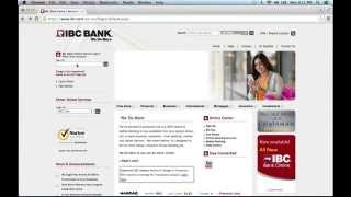 IBC Bank Online Banking Login Instructions