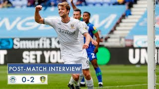 Post-match interview | Patrick Bamford | Wigan Athletic 0-2 Leeds United
