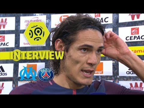 Interview de fin de match : Olympique de Marseille - Paris Saint-Germain (2-2) / 2017-18