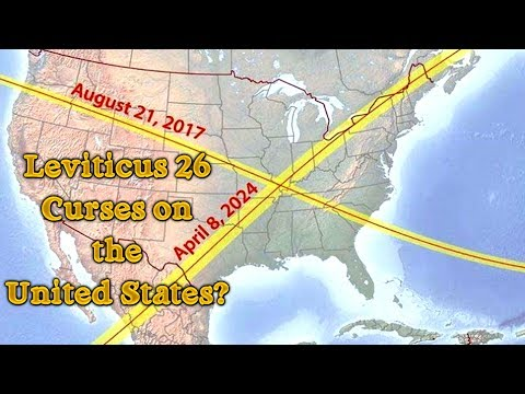 Leviticus 26 Curses on the United States of America until 2030 or we repent?