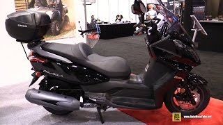2016 Kymco Downtown 300i Scooter - Walkaround - 2015 AIMExpo Orlando