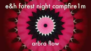 Klangmeditation forest night campfire