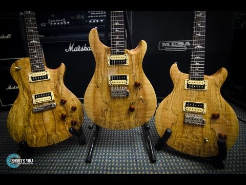 PRS SE - Spalted Maple Shoot Out