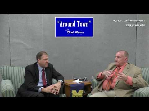 Around Town: with guest: Governor Chris Sununu