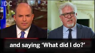 Glenn Beck LOSES It On Brian Stelter Walks Out Of CNN Interview