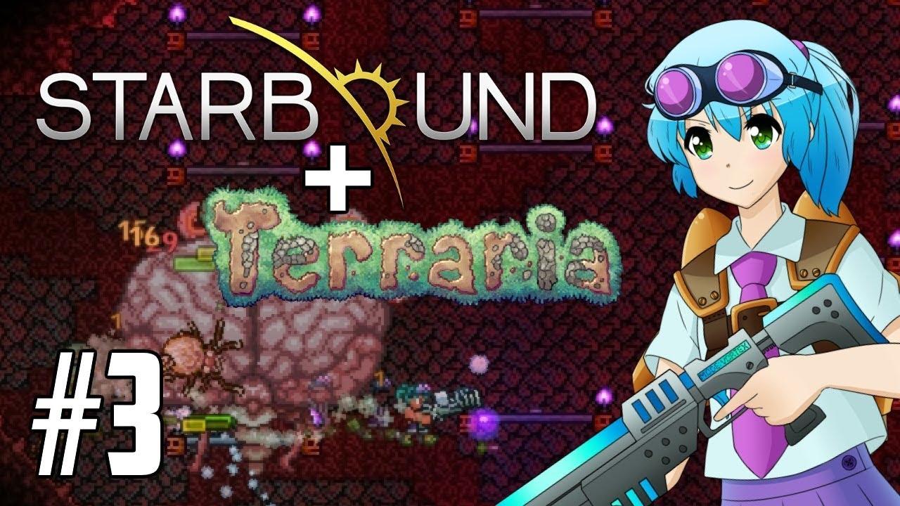 Brain Of Cthulhu In Dart Trap Arena Starraria Adventure Map Pc