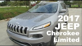 2017 Jeep Cherokee Limited - Full Review (it has a power plug!)