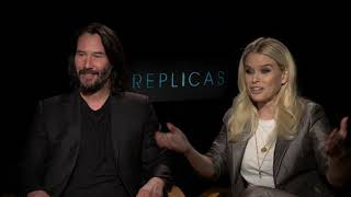 Replicas - Itw Keanu Reeves And Alice Eve (official Video)