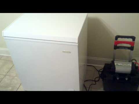DIY – Portable Solar Power –  The Practical Freezer Test – PART 3