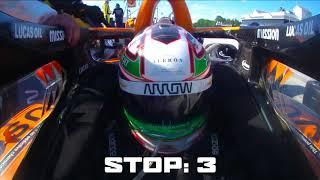 Arrow McLaren SP No. 5 Pit Performance