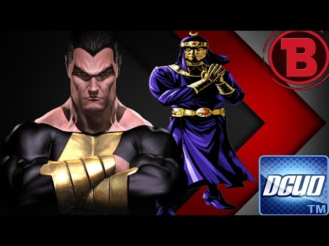 DCUO - Legends: Back Adam (Feat TeamUp Felix Faust)(Adao Negro)