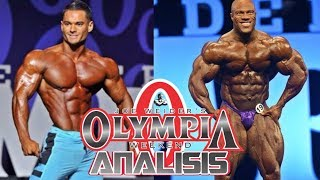 MR OLYMPIA 2017 🏆 MEN'S PHYSIQUE y OPEN BODYBUILDING