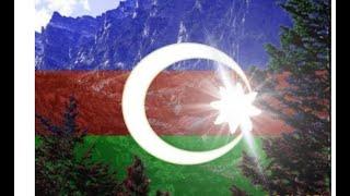 Зч класс на уроке рисования ко дню флаг Азербайджана.